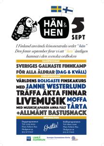 H+ñn och Hen Poster A3 UME+à-1